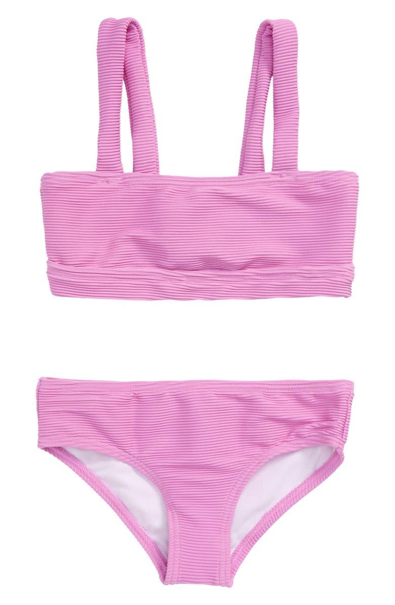 BILLABONG Line Up Two-Piece Swimsuit, Main, color, WILD LAVENDER