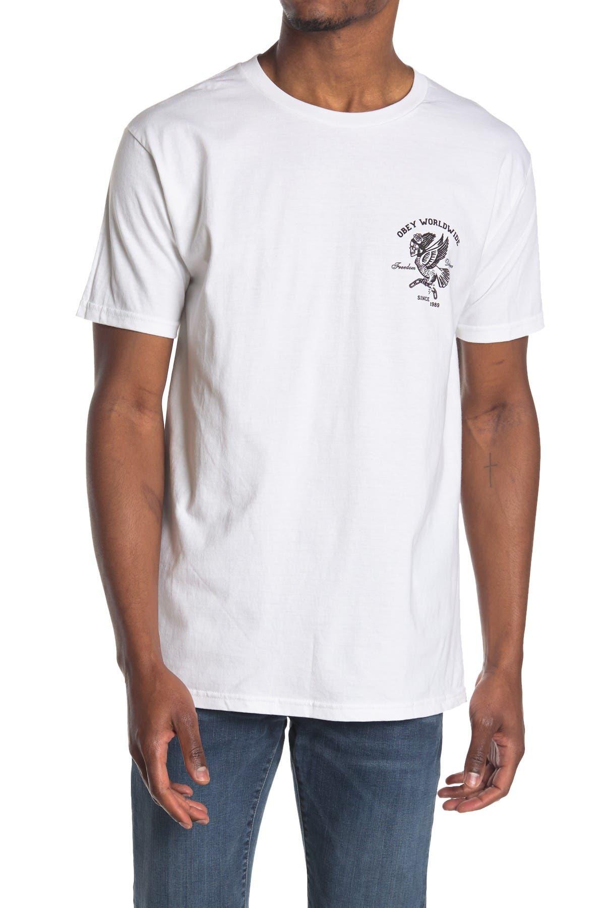 Image of Obey Demon Bird T-Shirt