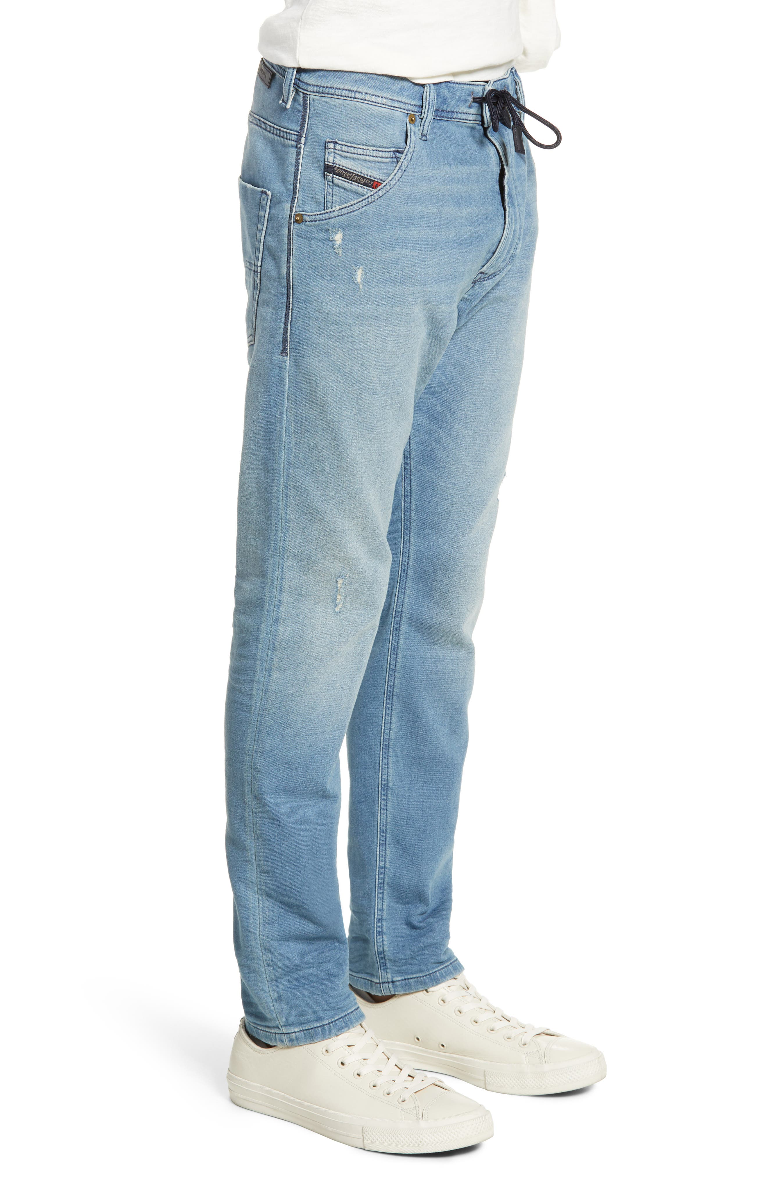 ,                             Krooley Jogg Slouchy Skinny Fit Jeans,                             Alternate thumbnail 4, color,                             086AY