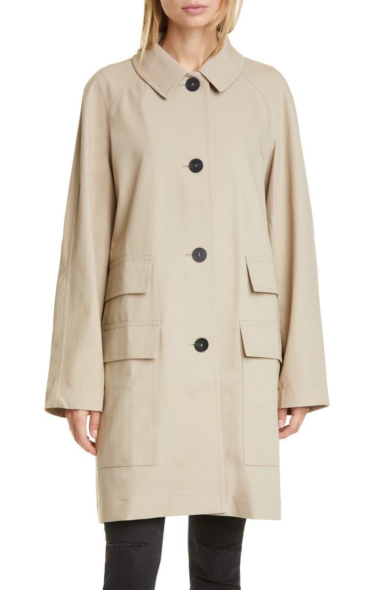 SOFIE D'HOORE Cotton Twill Coat, Main, color, 250