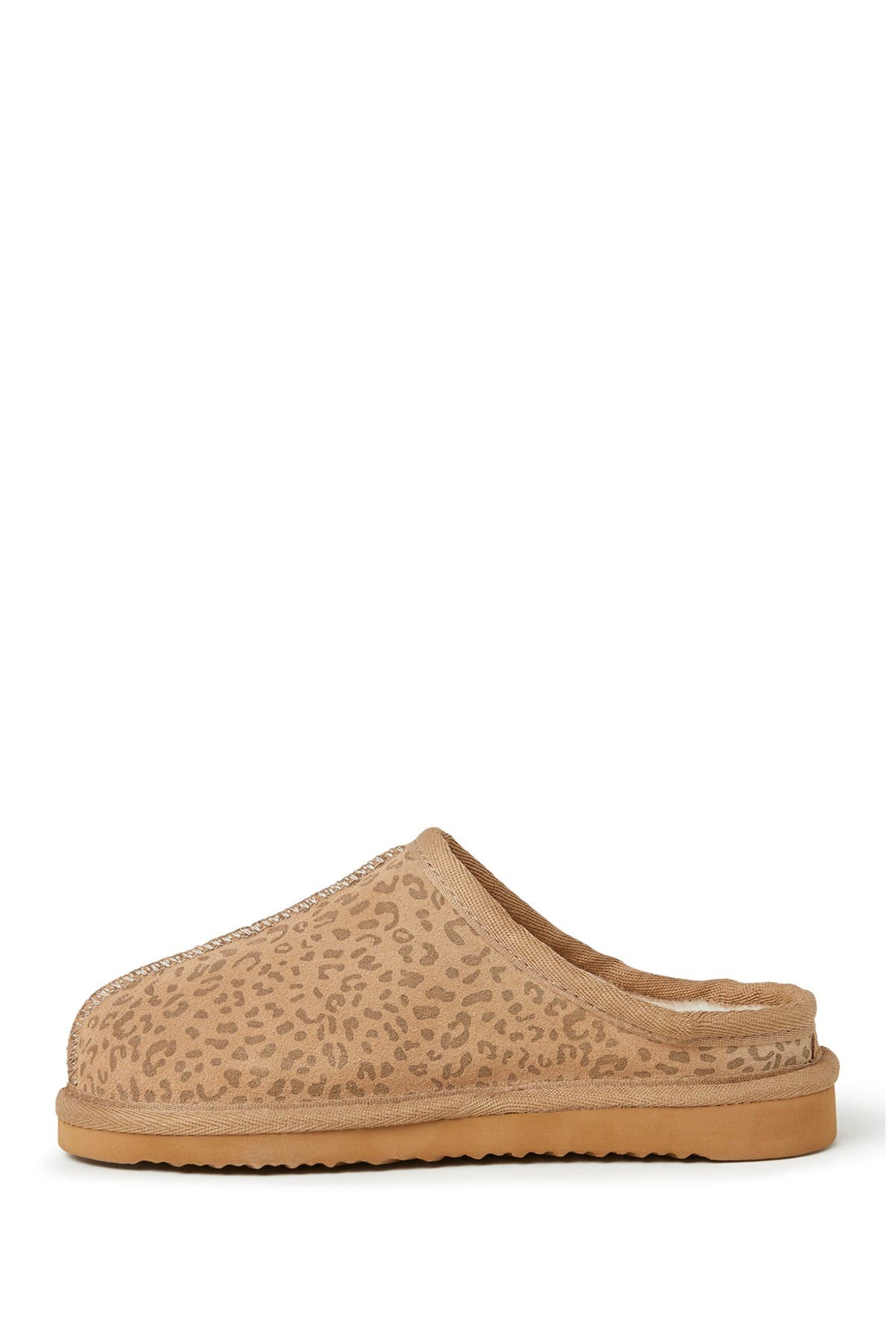 Image of Dearfoams Dempsey Genuine Shearling Lined Clog
