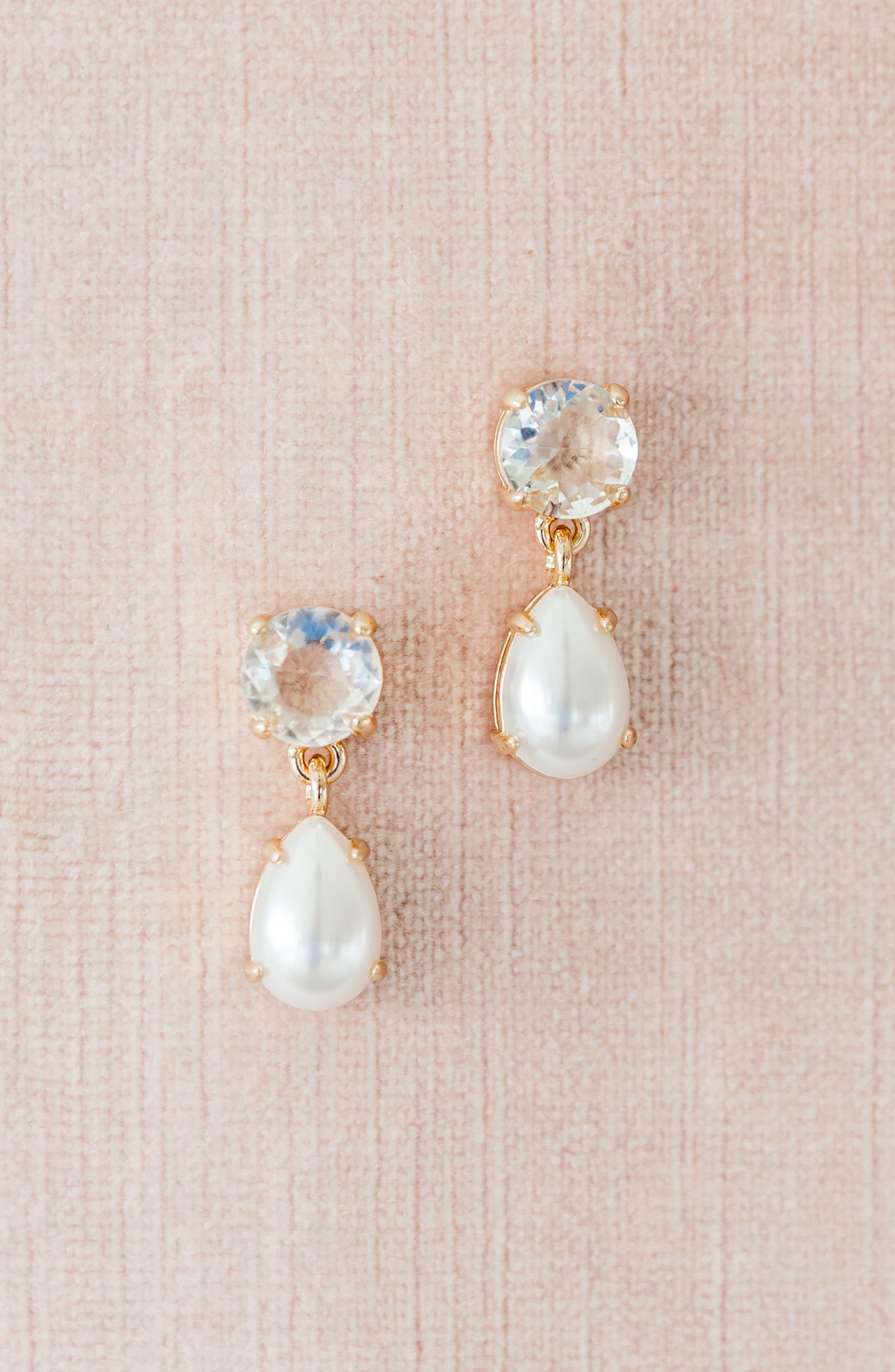 ,                             Vintage Femme Drop Earrings,                             Alternate thumbnail 5, color,                             100