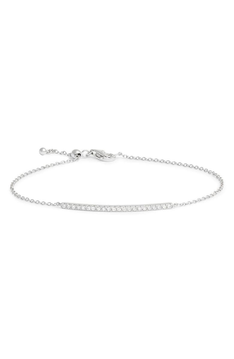 BONY LEVY Bardot Perfect Diamond Bracelet, Main, color, 040