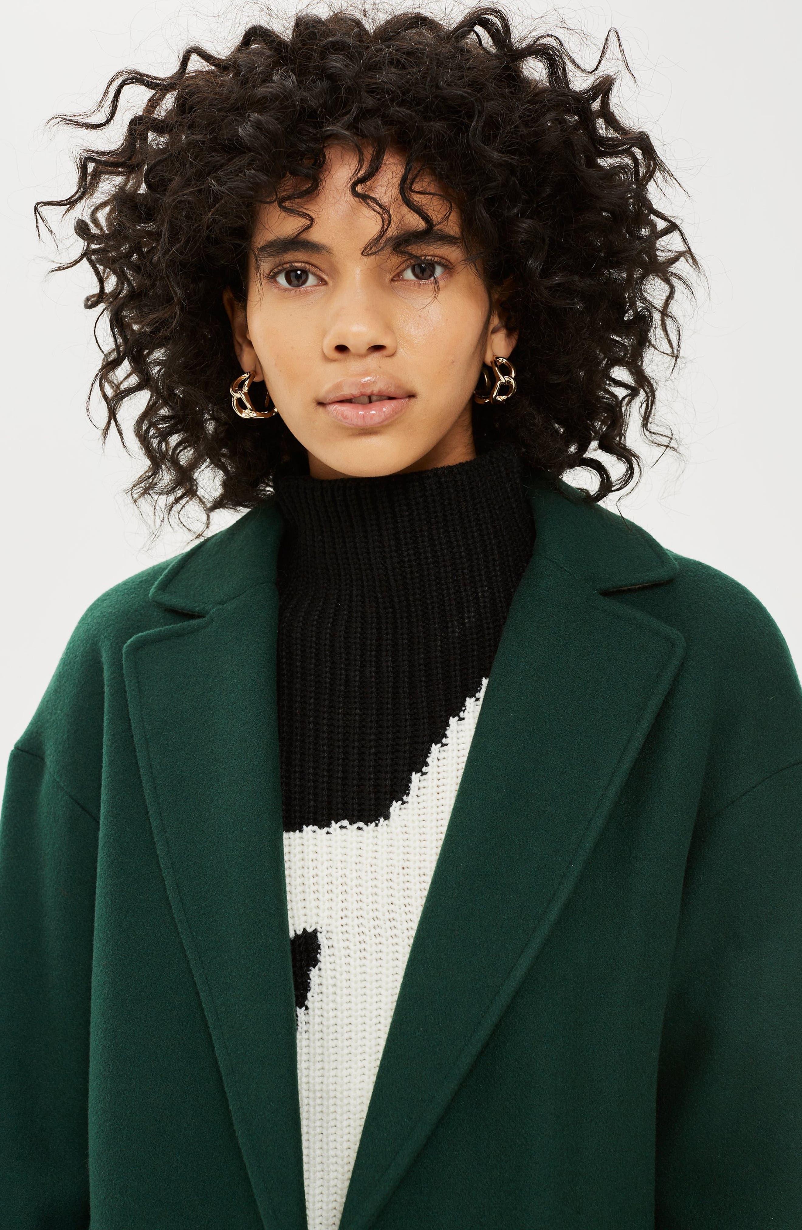 ,                             Lily Knit Back Midi Coat,                             Alternate thumbnail 41, color,                             301