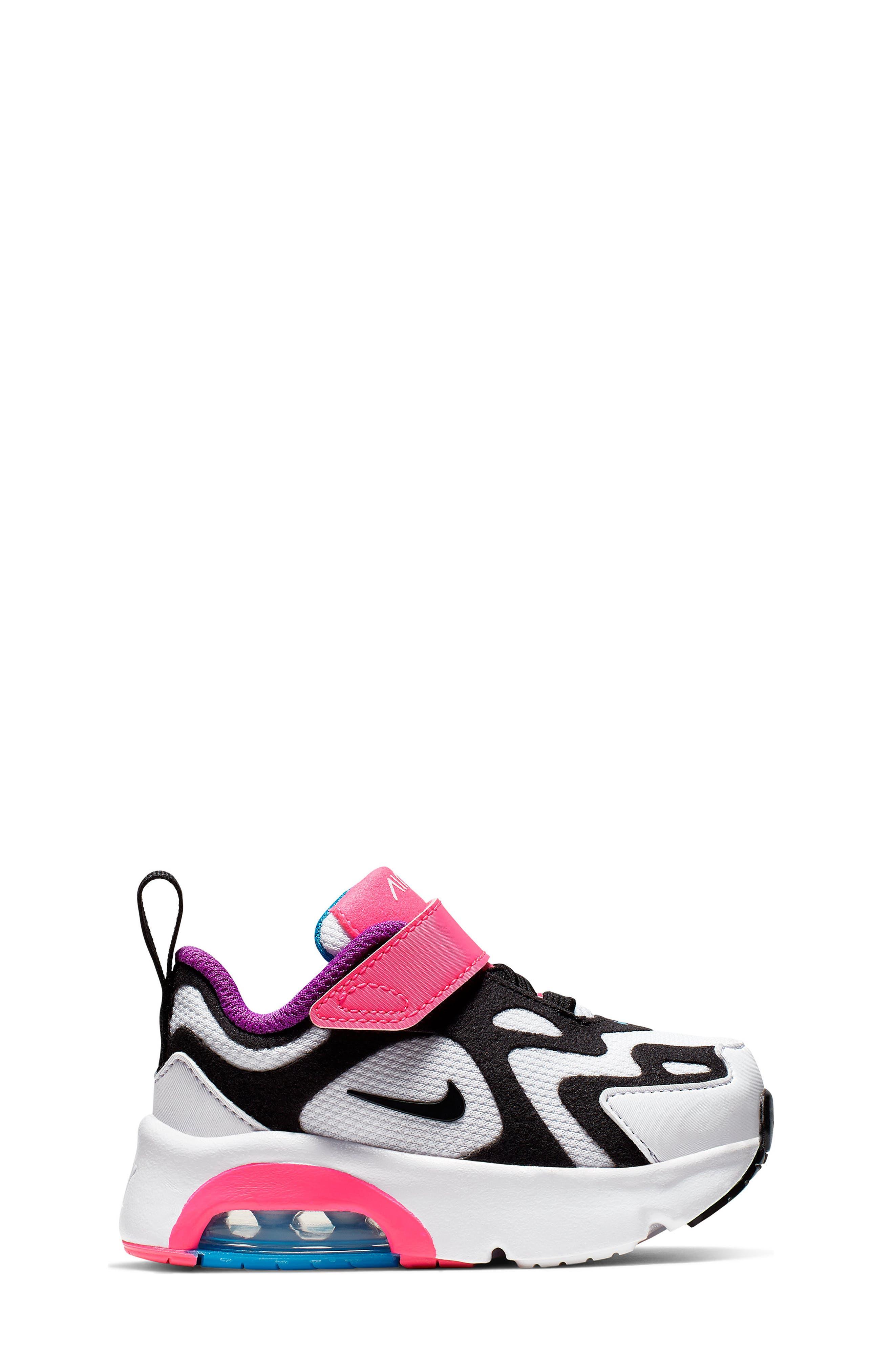 Toddler Boys Nike Air Max 200 Sneaker Td Size 7 M  White