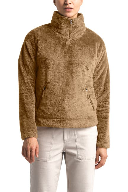 Image of The North Face Plush Fleece Quarter Zip Pullover