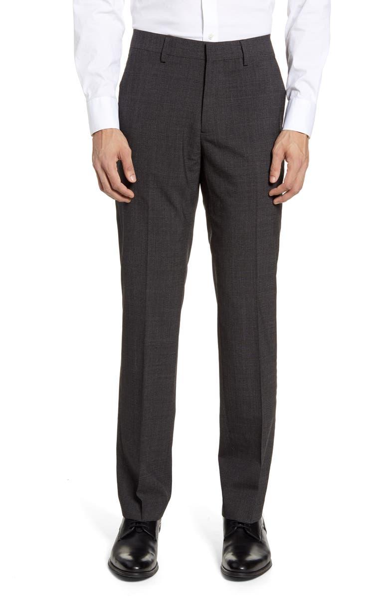BONOBOS Jetsetter Slim Fit Flat Front Suit Trousers, Main, color, 020
