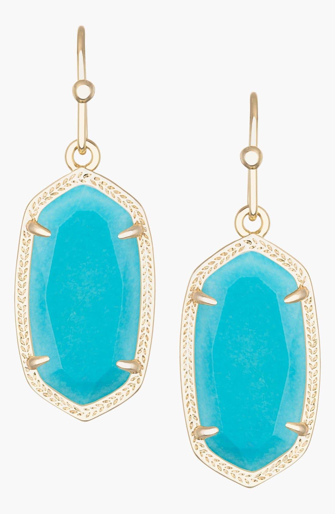 ,                             Dani Stone Drop Earrings,                             Main thumbnail 56, color,                             450