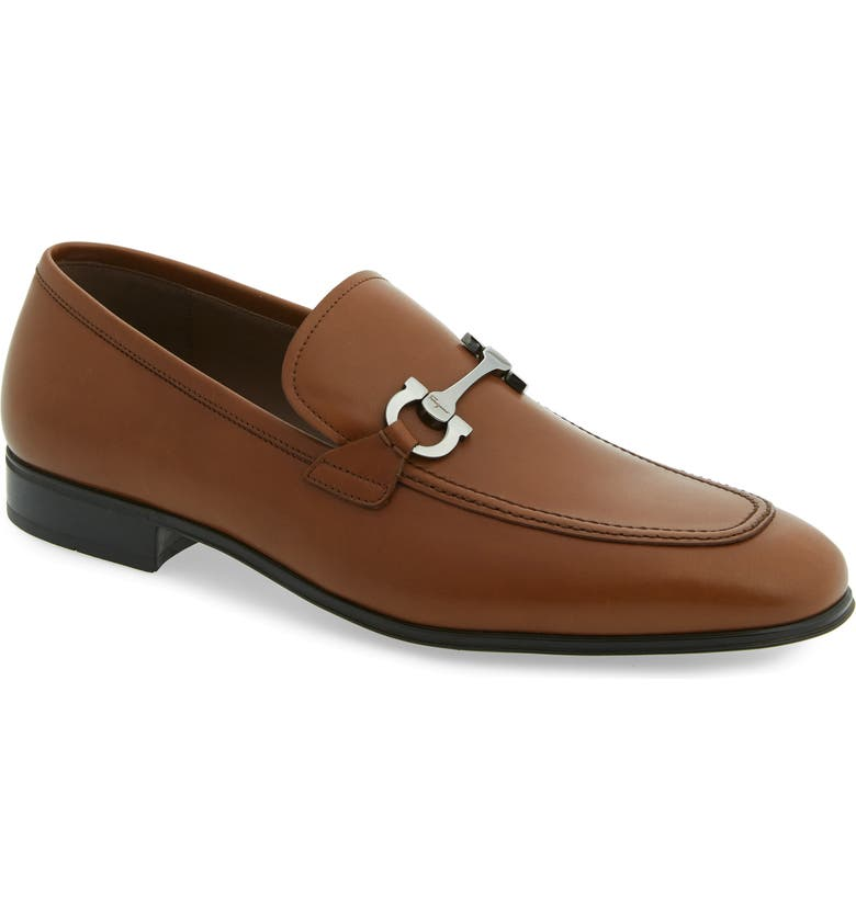 SALVATORE FERRAGAMO Tapas Bit Loafer, Main, color, CUOIO/ BROWN