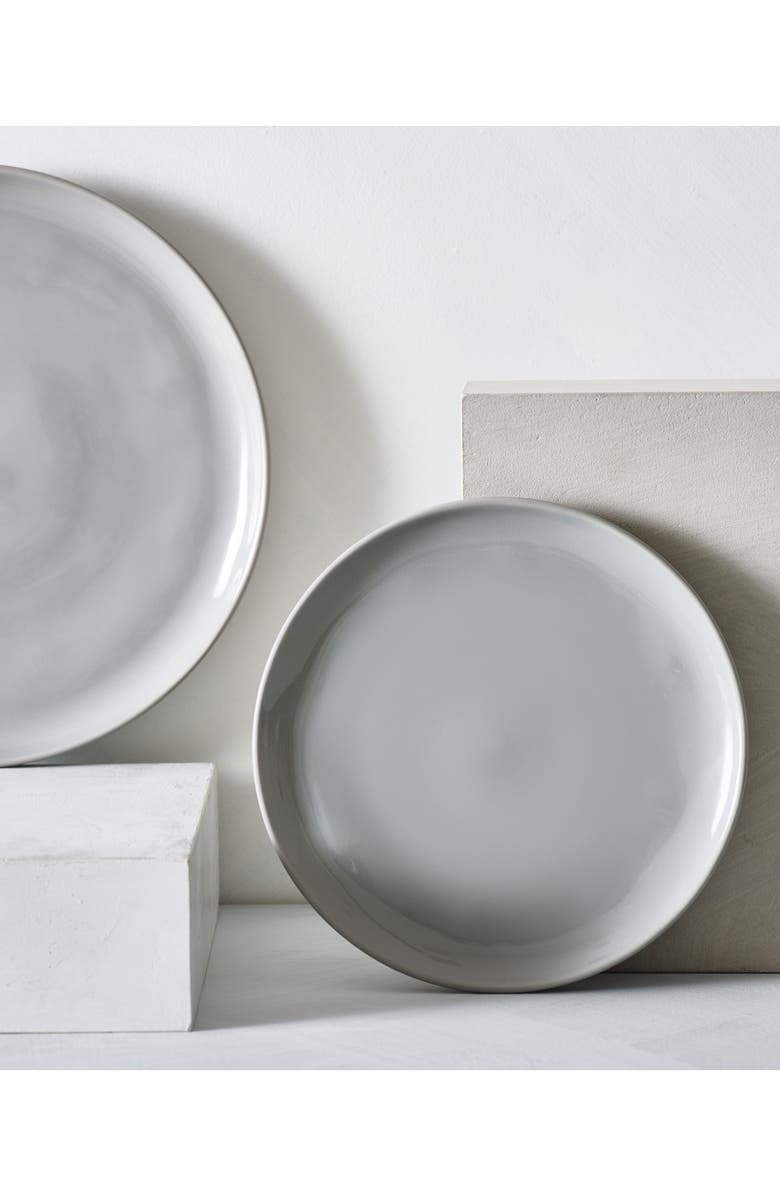 THE WHITE COMPANY Portobello Side Plate, Main, color, GREY