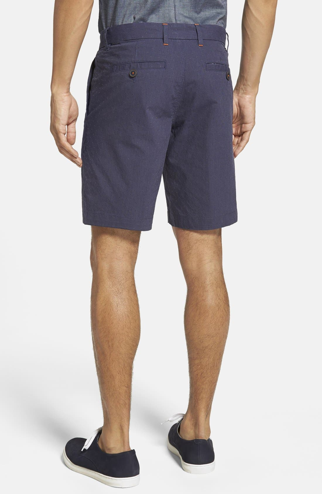 ,                             'Noroed' Slim Fit Dobby Shorts,                             Alternate thumbnail 3, color,                             410