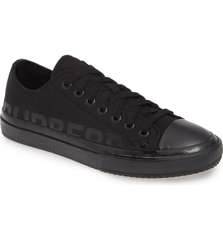 BURBERRY Larkhall Sneaker, Main, color, BLACK