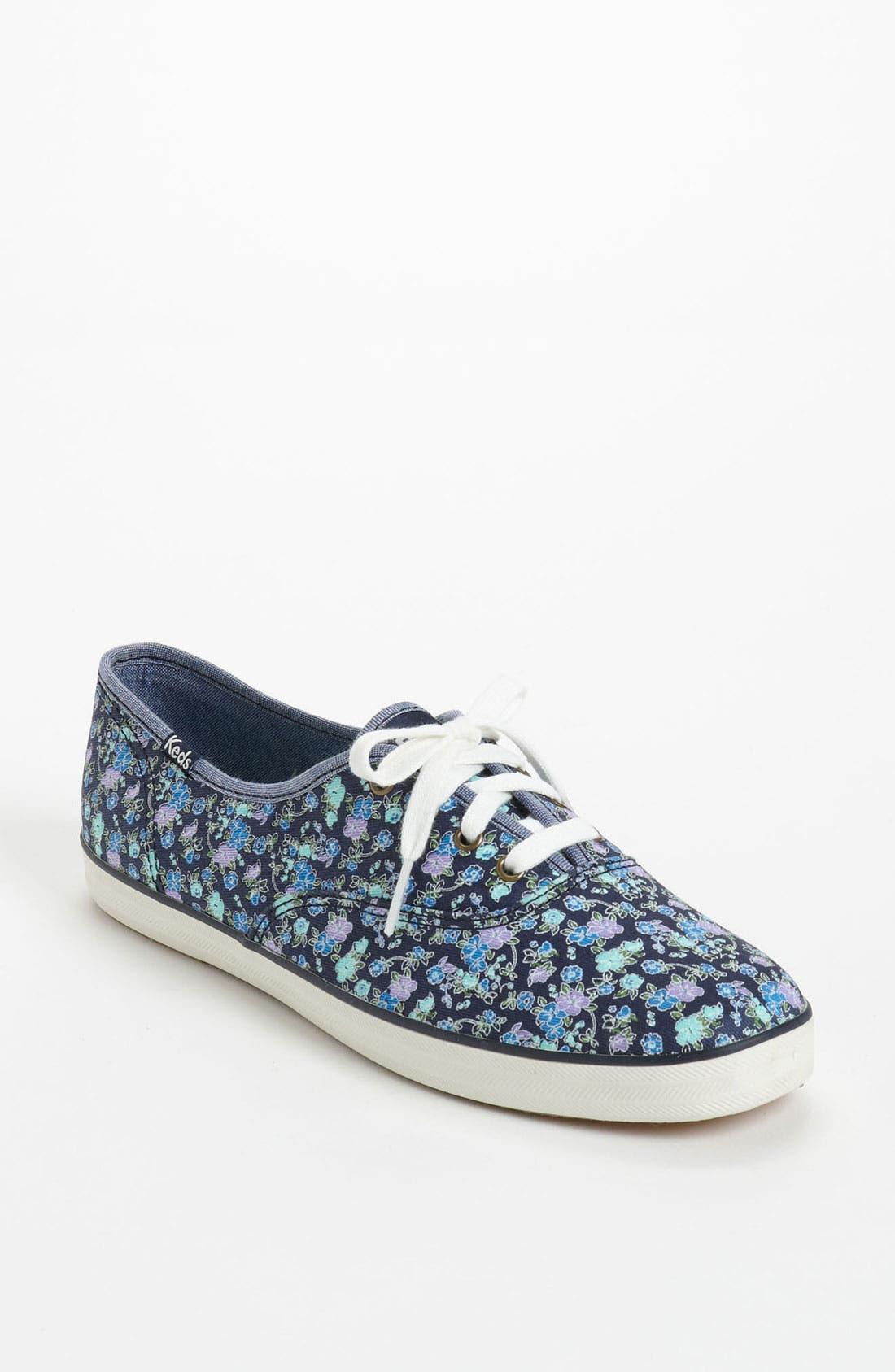 ,                             'Champion - Floral' Sneaker,                             Main thumbnail 5, color,                             400