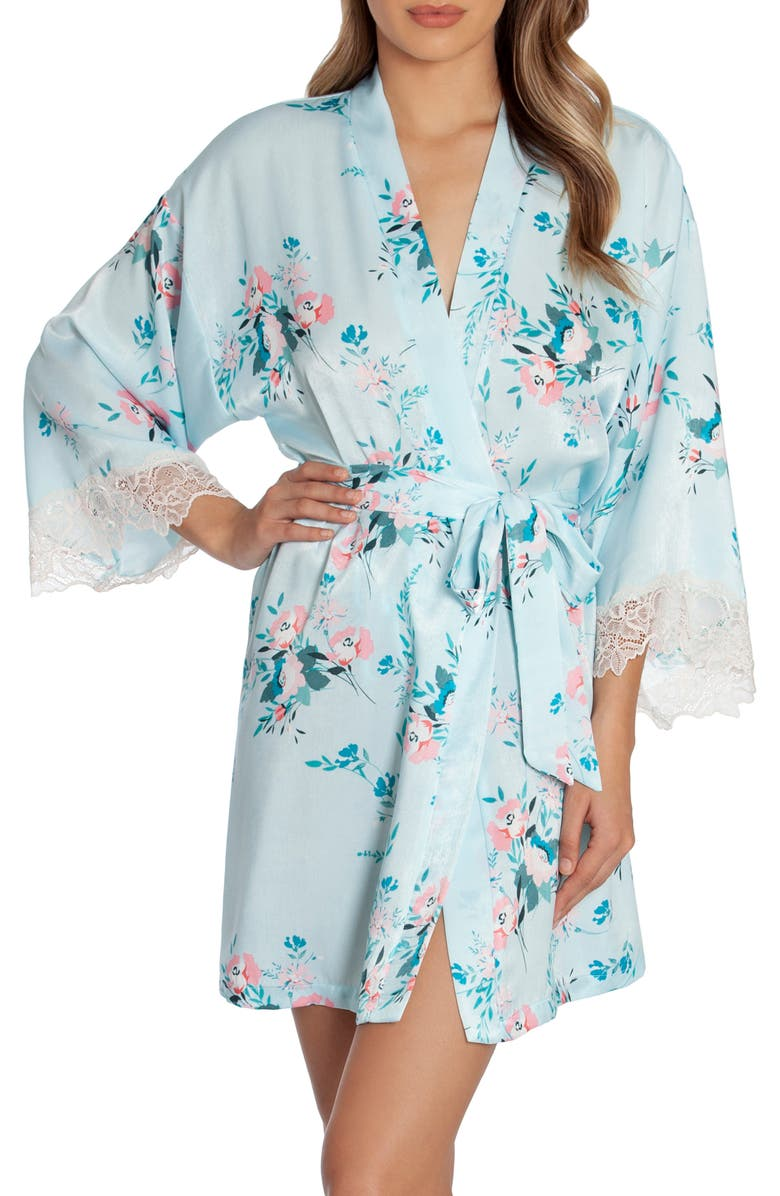 IN BLOOM BY JONQUIL Lovin' Wrap, Main, color, AQUA FLORAL