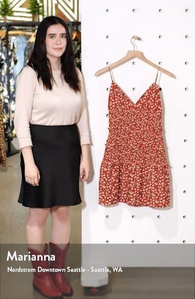 Floral Smocked Minidress, sales video thumbnail