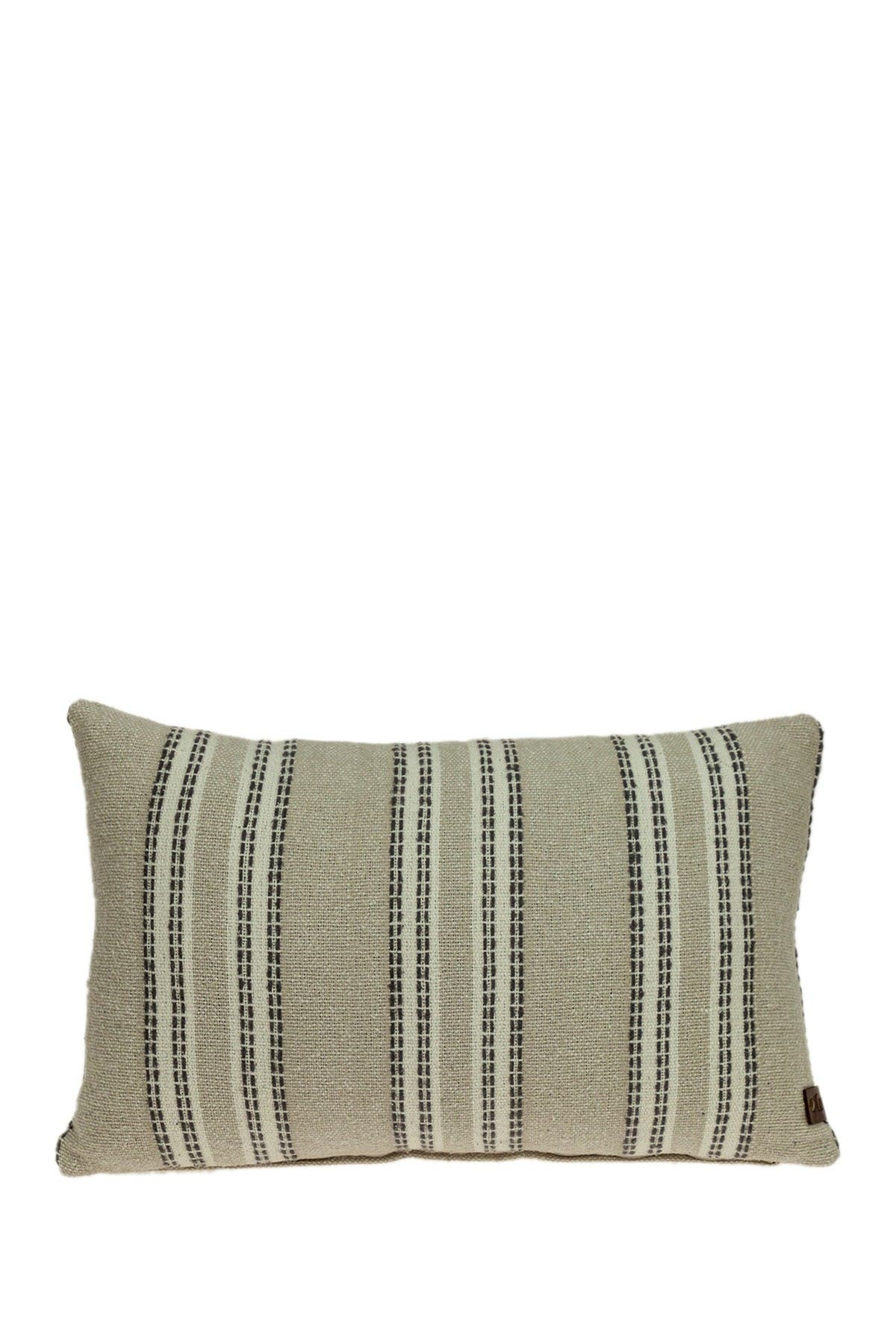 Image of Parkland Collection Bliss Transitional Beige Throw Pillow