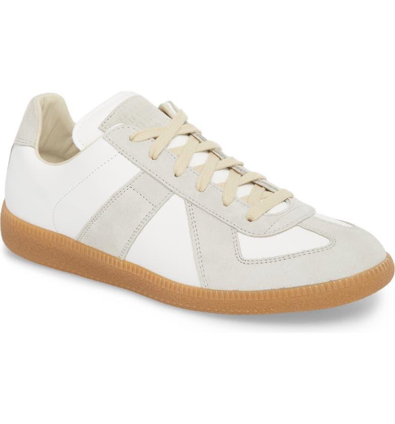 MAISON MARGIELA Replica Low Top Sneaker, Main, color, OFF WHITE