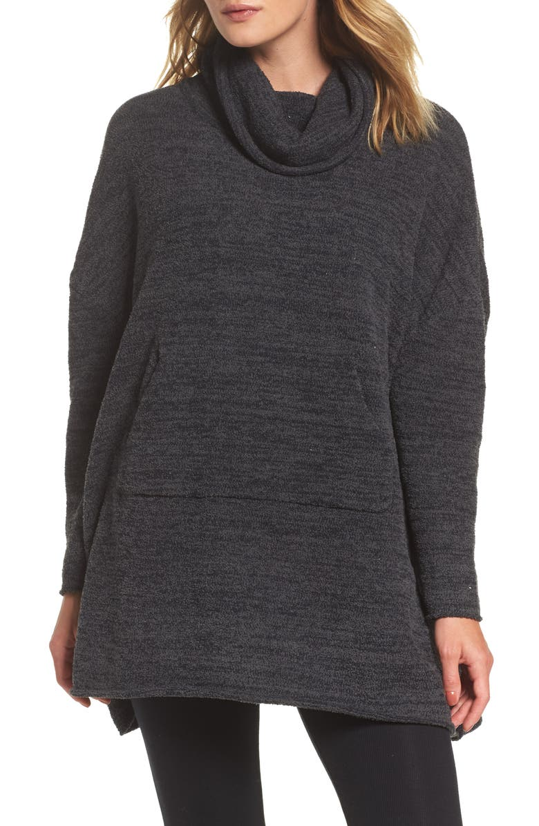 BAREFOOT DREAMS<SUP>®</SUP> Cozychic<sup>®</sup> Lounge Pullover, Main, color, 001