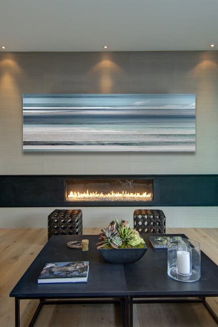 """Image of Marmont Hill Inc. Kuremaa Painting Print on Wrapped Canvas - 30"""" x 10"""""""