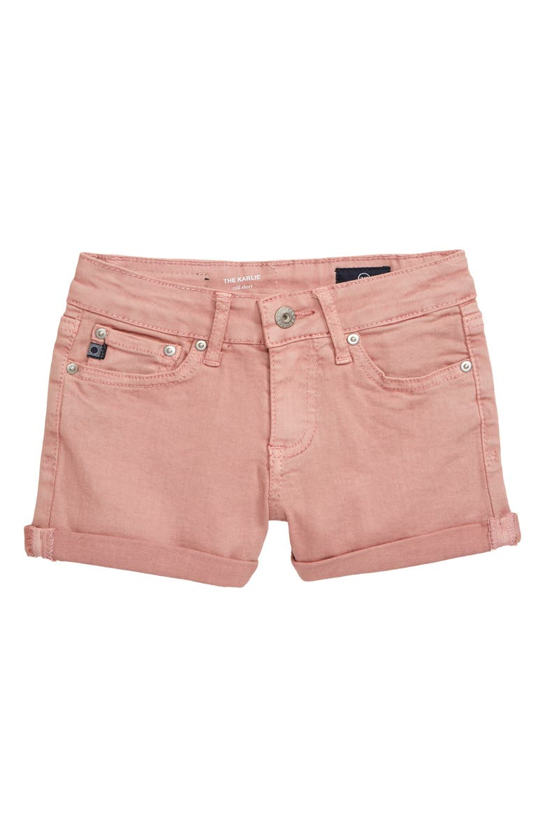 AG The Karlie Roll Cuff Shorts, Main, color, 658