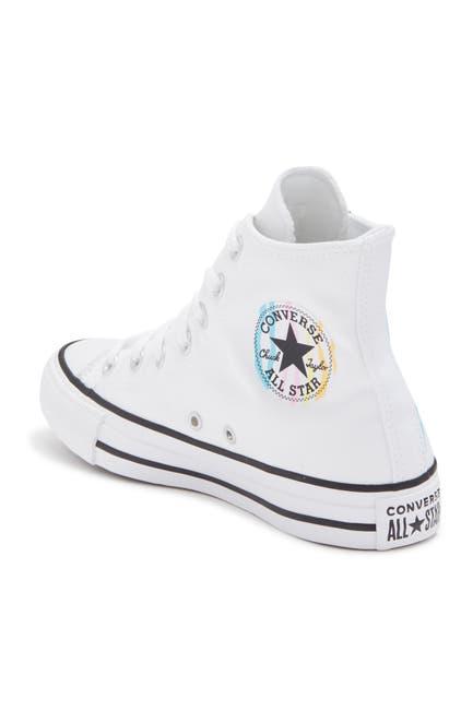 Image of Converse Chuck Taylor All Star Zebra Stripe High Top Sneaker