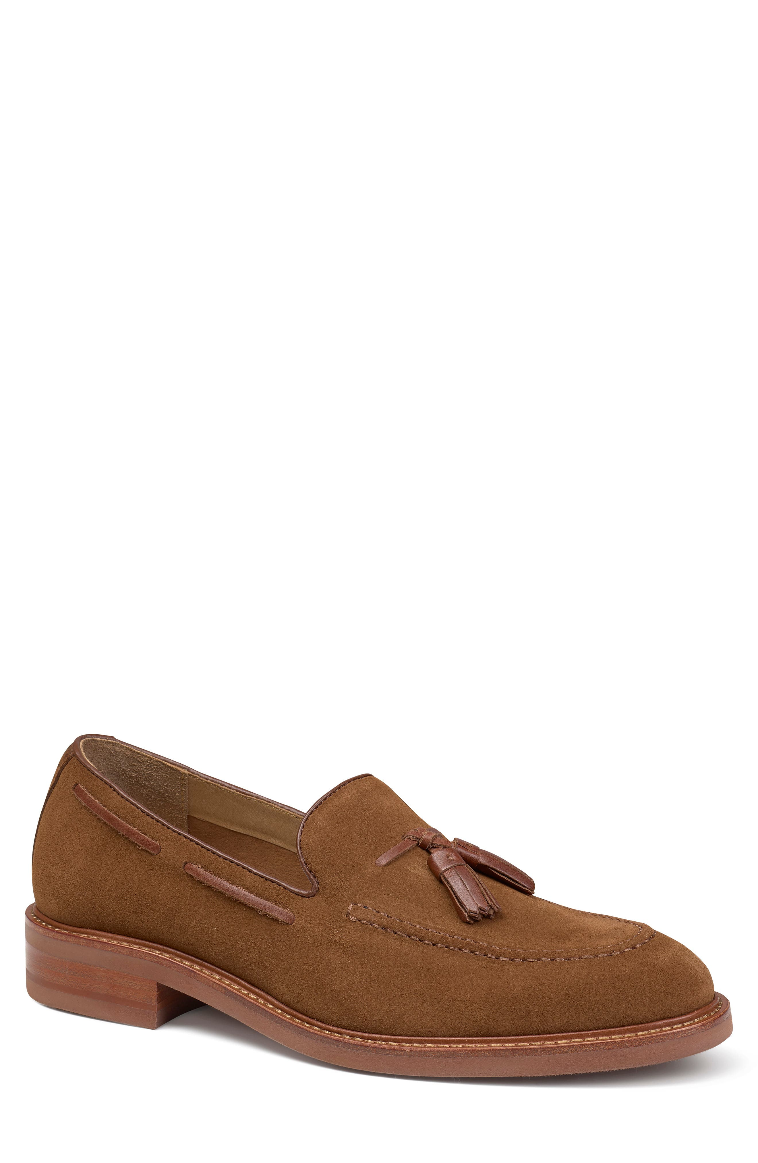 An XL Extralight sole grounds a smart, water-resistant loafer finished with a cushioned footbed and sleek Vachetta leather tassels and trim. Style Name: Trask Lofland Tassel Loafer (Men). Style Number: 6037523 1. Available in stores.