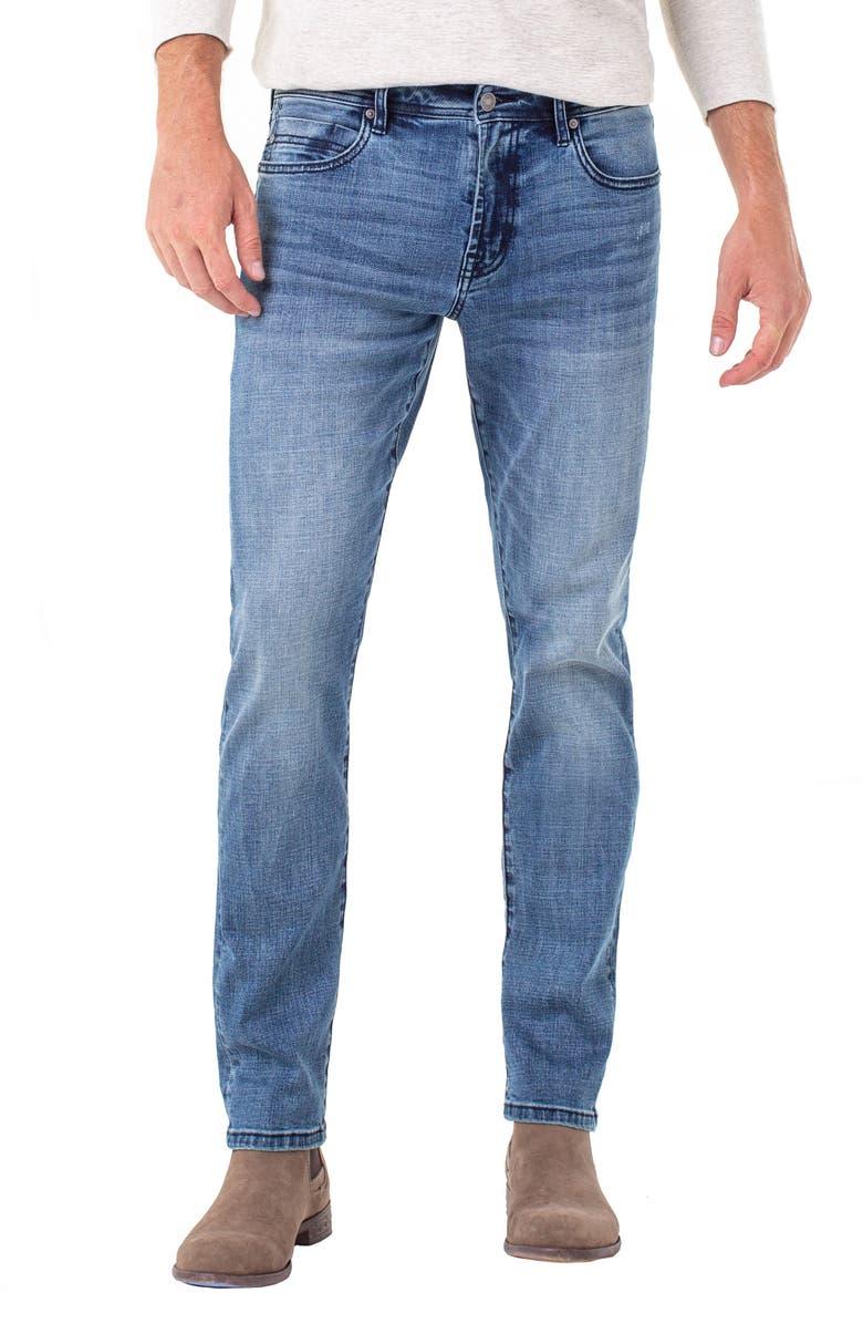 LIVERPOOL Kingston Slim Straight Leg Jeans, Main, color, MAYSON