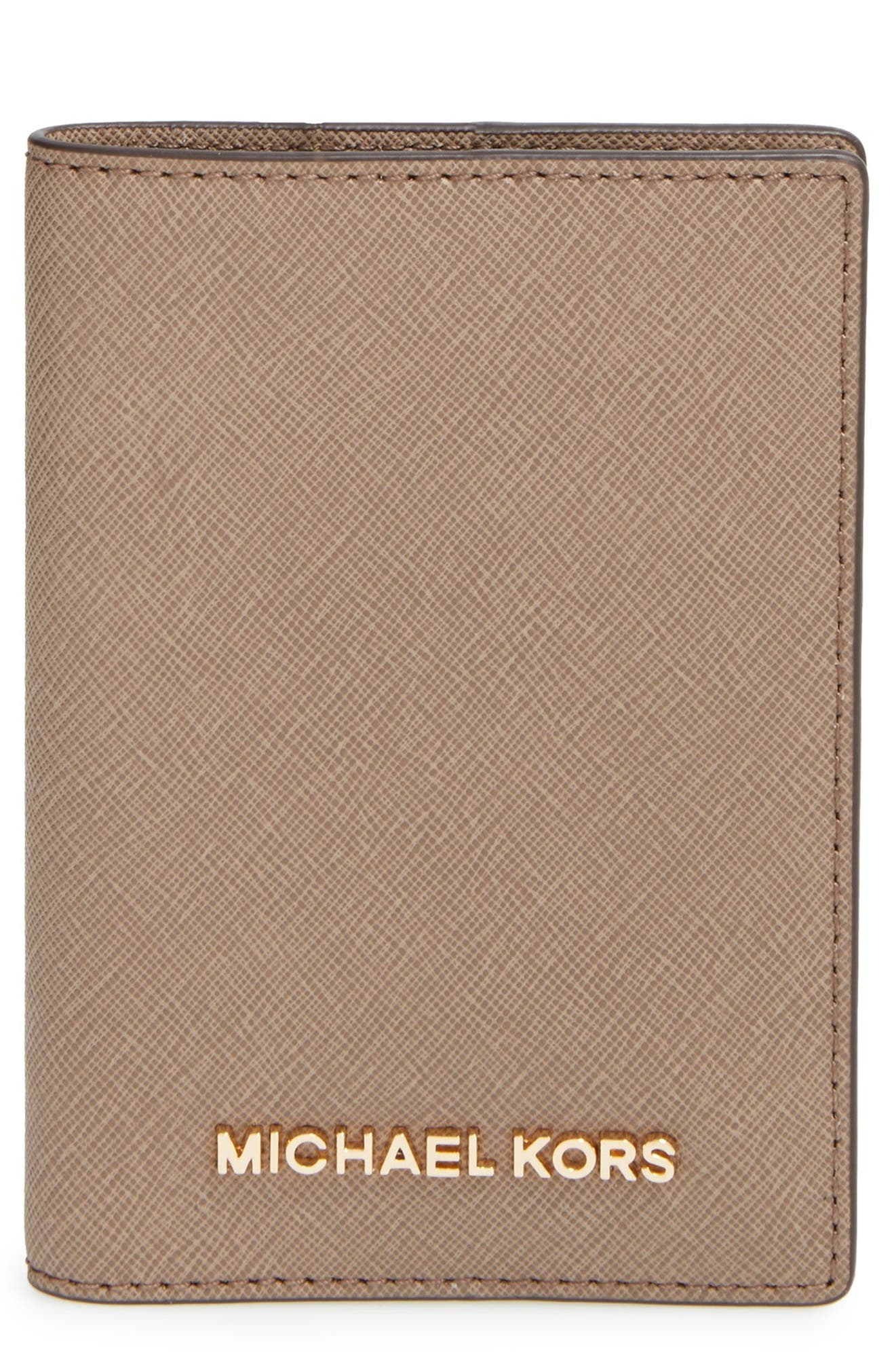 454721f4998c MICHAEL Michael Kors 'Jet Set' Passport Case | Nordstrom