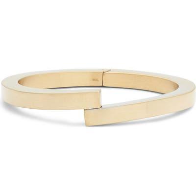 Knotty Hinge Bar Cuff Bracelet
