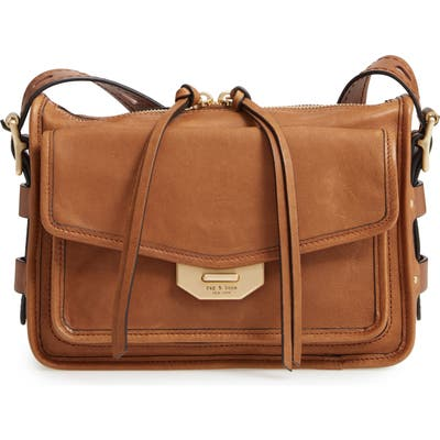 Rag & Bone Small Field Leather Messenger Bag - Brown