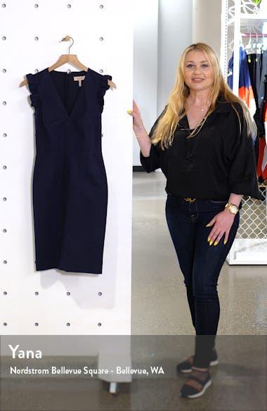V-Neck Sheath Dress, sales video thumbnail