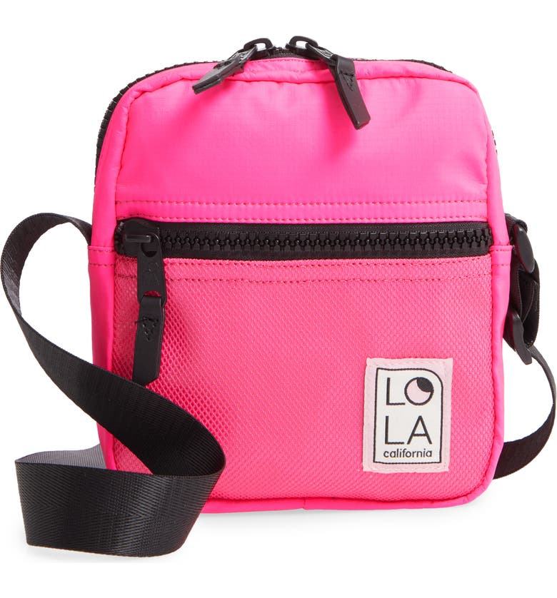 Lola Los Angeles Starlight Nylon Crossbody Bag Nordstrom