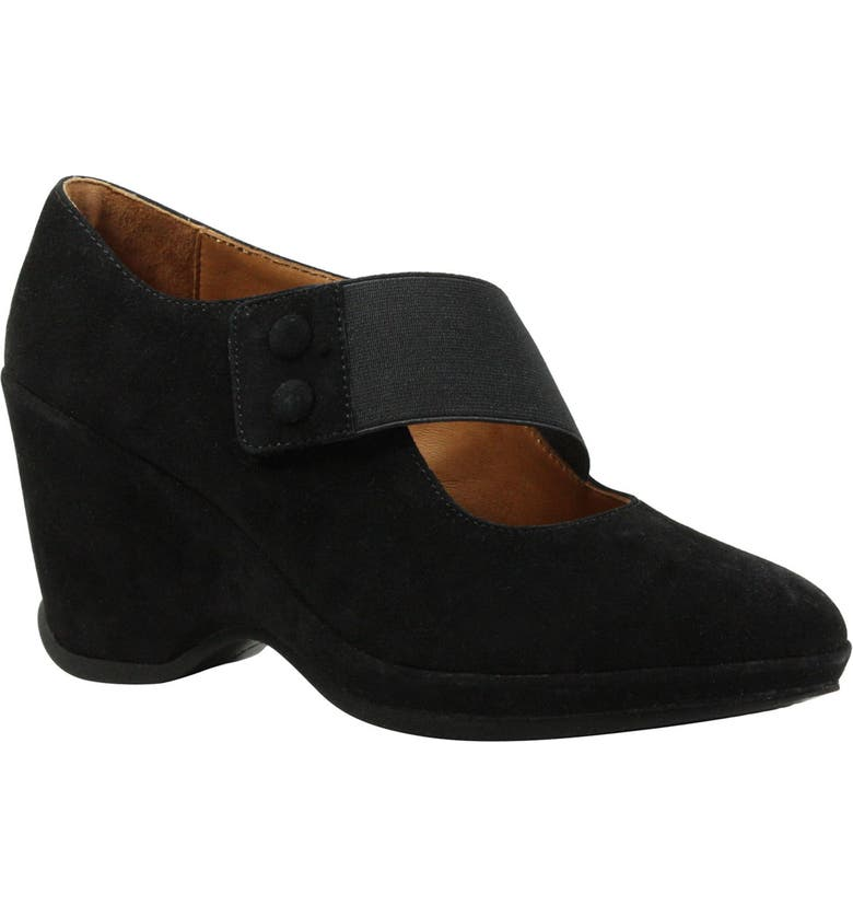 L'AMOUR DES PIEDS Oriana Wedge, Main, color, 001