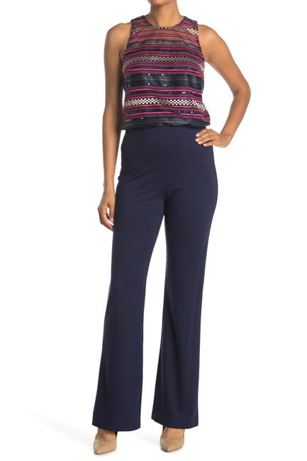 Image of Trina Turk Chimayo Wide Leg Stretch Pants