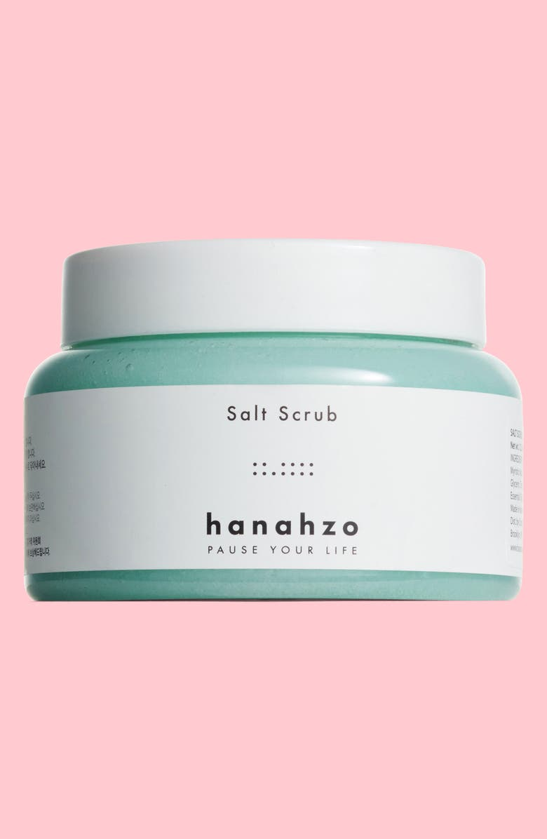 HANAHZO Lime Tea Tree Salt Scrub, Main, color, 300