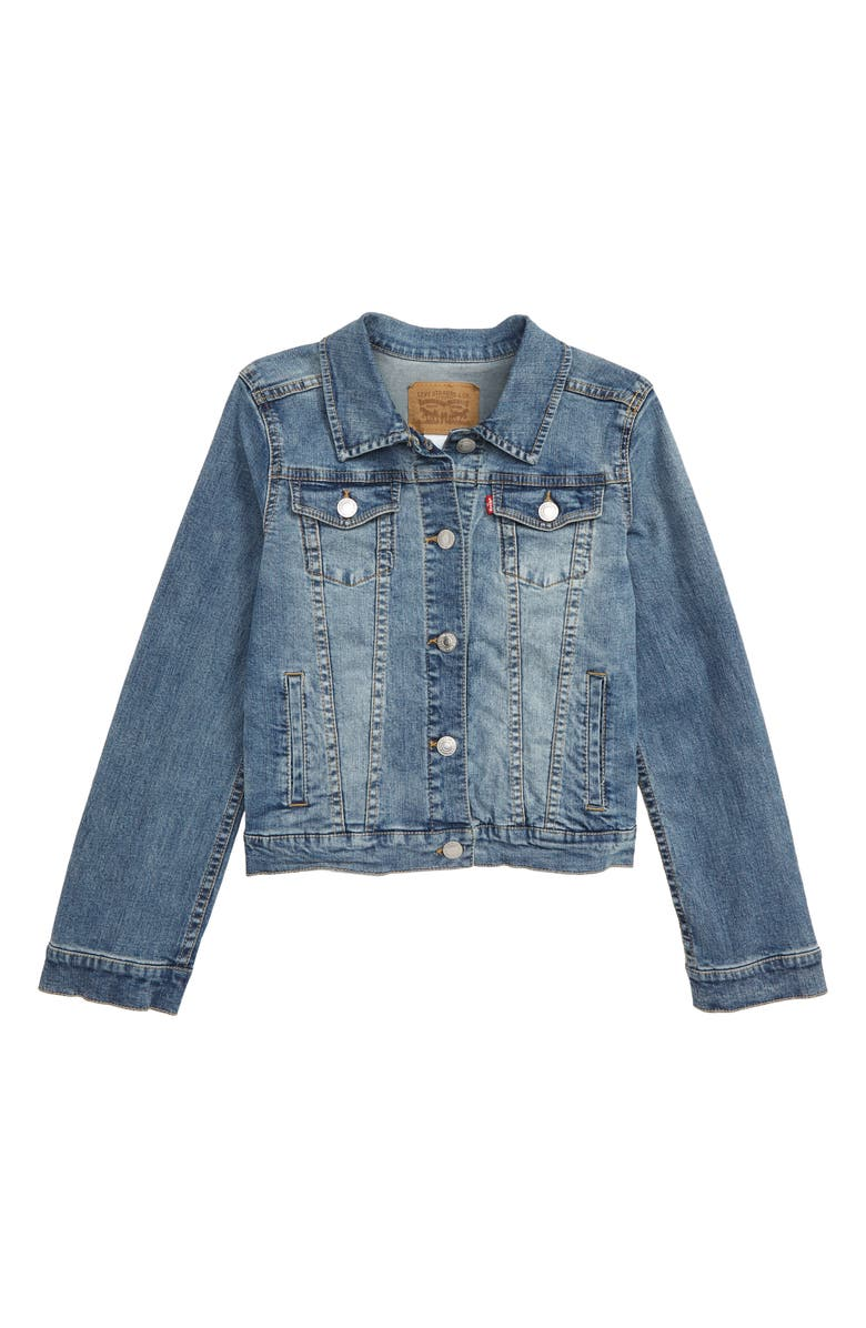 LEVI'S<SUP>®</SUP> Levi's Denim Trucker Jacket, Main, color, 452