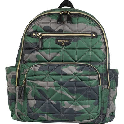Twelvelittle Companion Quilted Nylon Diaper Backpack -
