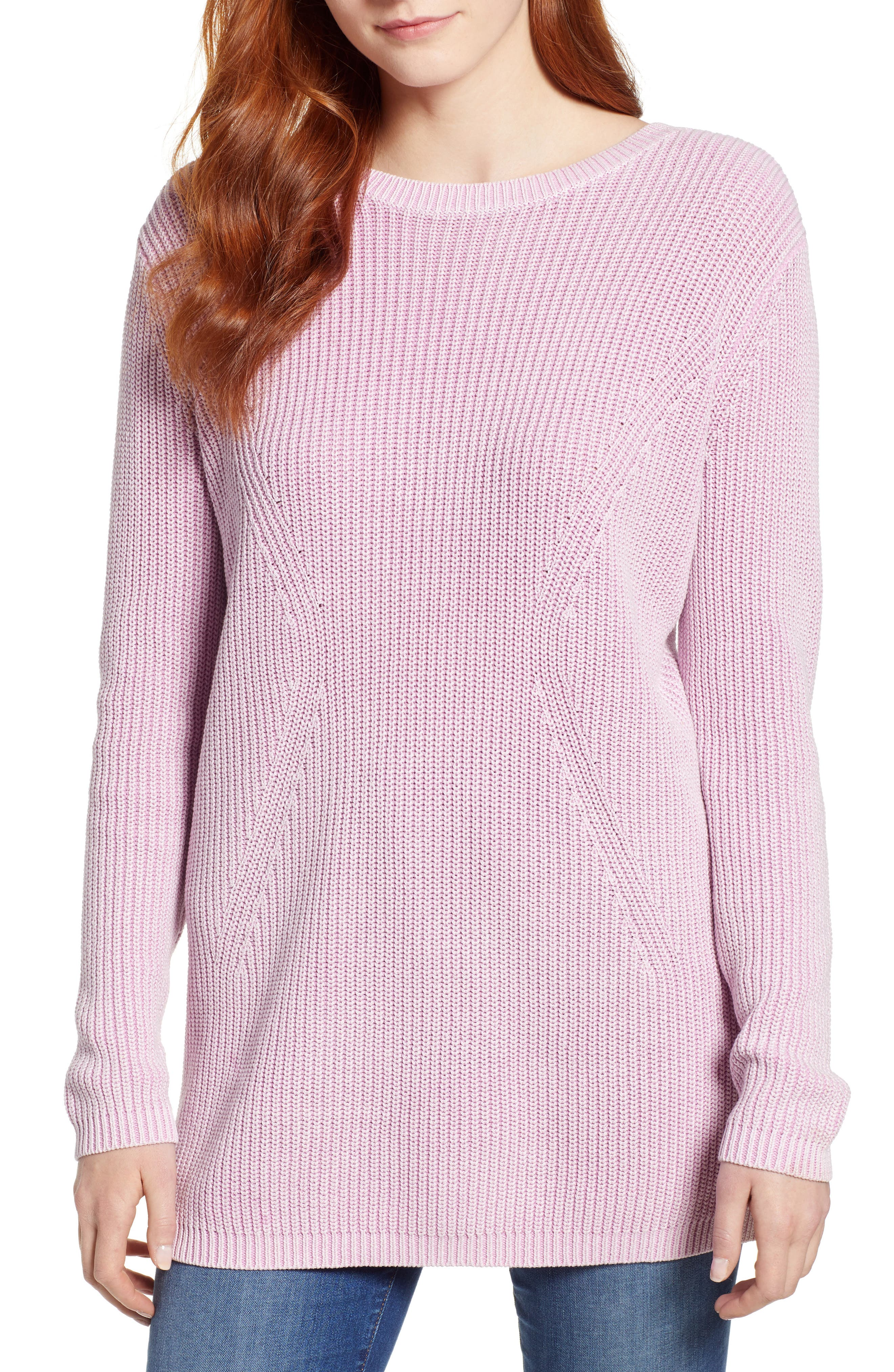 ,                             Tie Back Tunic Sweater,                             Main thumbnail 31, color,                             650