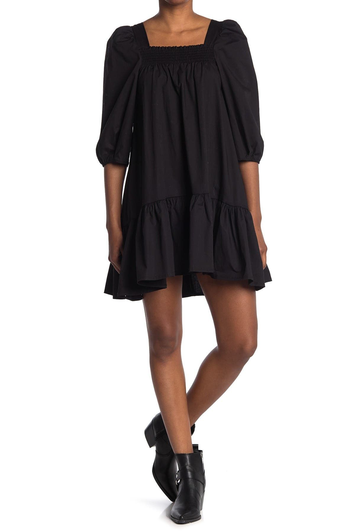 Image of Velvet Torch Smock Poplin Dress