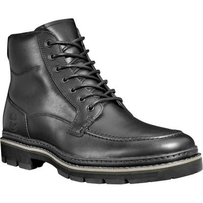 Timberland Port Union Waterproof Cap Toe Boot, Black