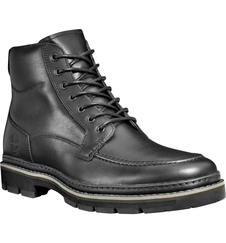 TIMBERLAND Port Union Waterproof Cap Toe Boot, Main, color, 001