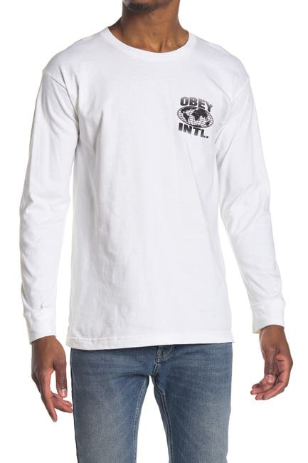 Image of Obey Consume Repeat Graphic Long Sleeve T-Shirt