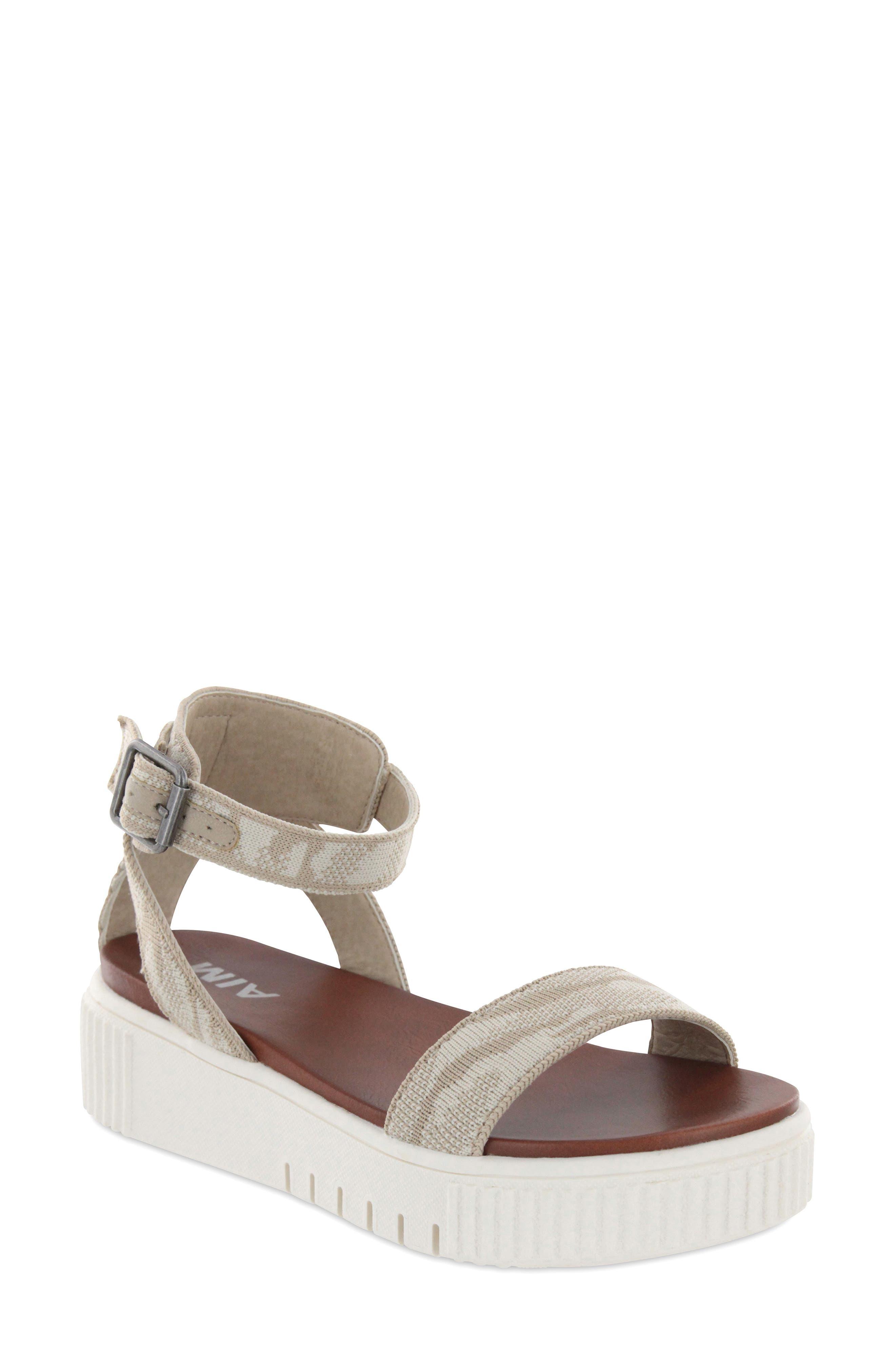 Lunna Ankle Strap Platform Sandal
