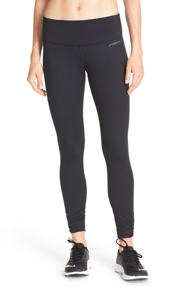 BROOKS 'Greenlight' Running Tights, Main, color, 001