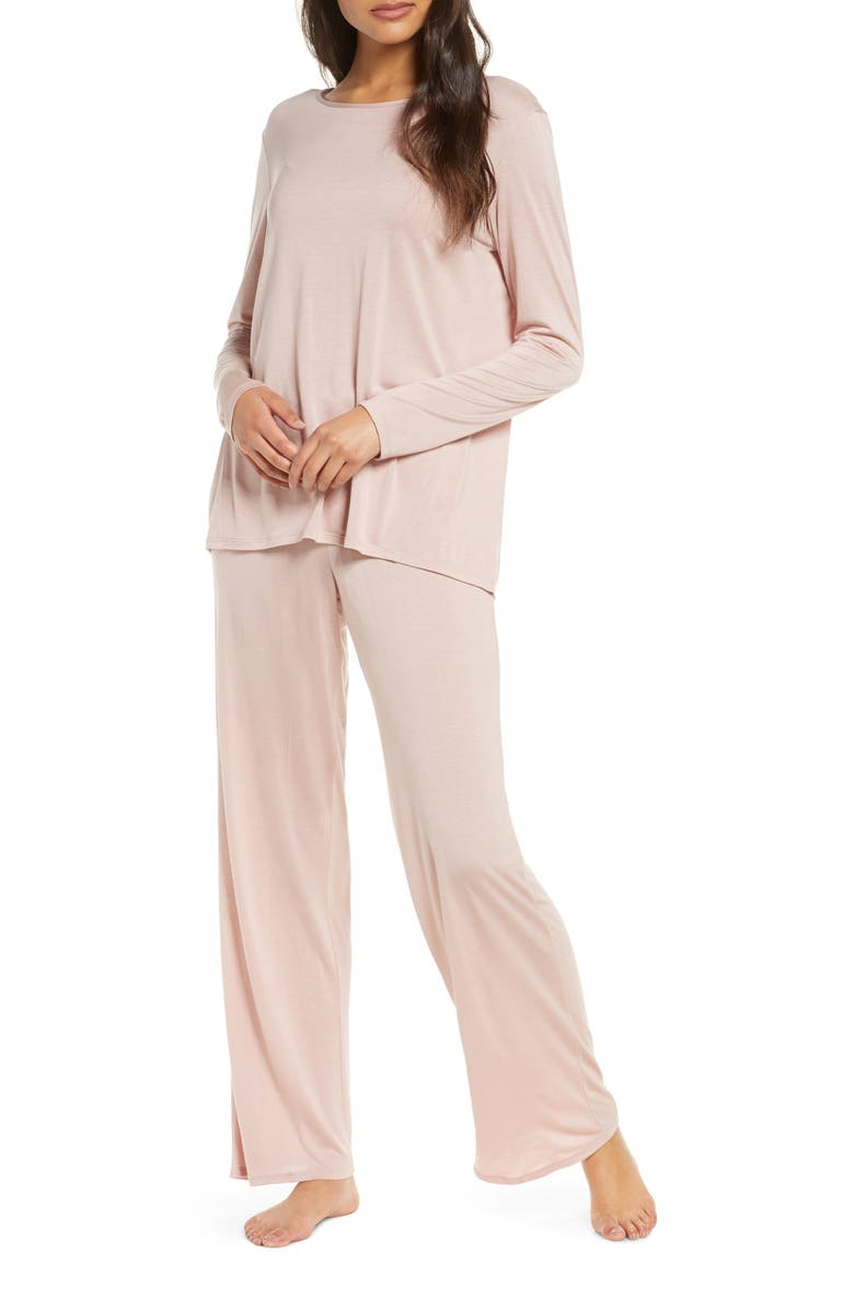 NATORI Jersey Pajamas, Main, color, 267
