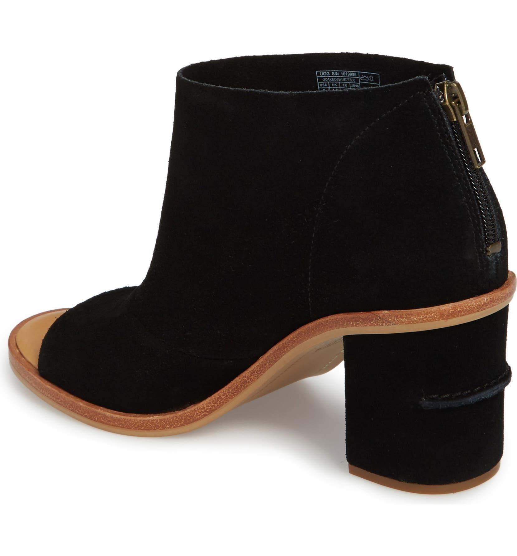 9e231dd0aa5 UGG® Ginger Peep Toe Bootie (Women)   Nordstrom