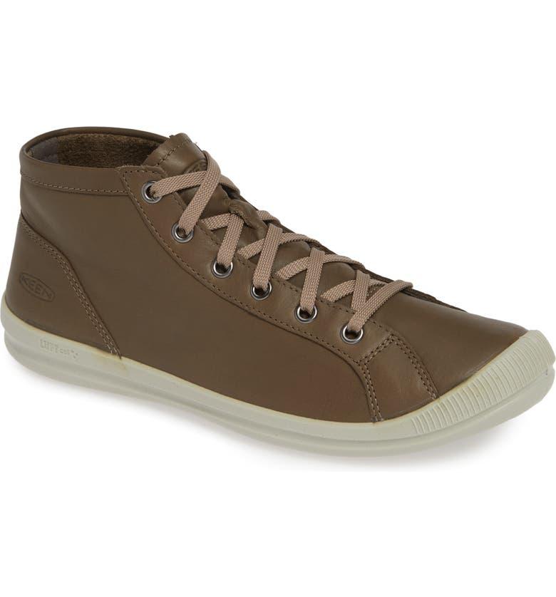 KEEN Lorelai Chukka Sneaker, Main, color, BRINDLE LEATHER