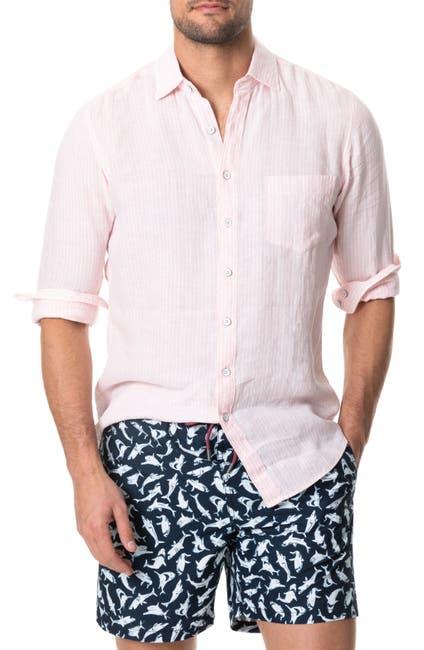 Image of RODD AND GUNN Bay of Islands Linen Sport Shirt