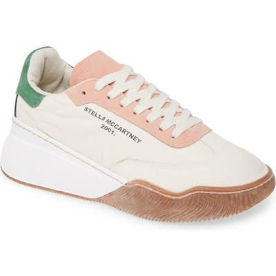 Stella Mccartney Loop Logo Sneaker, Beige