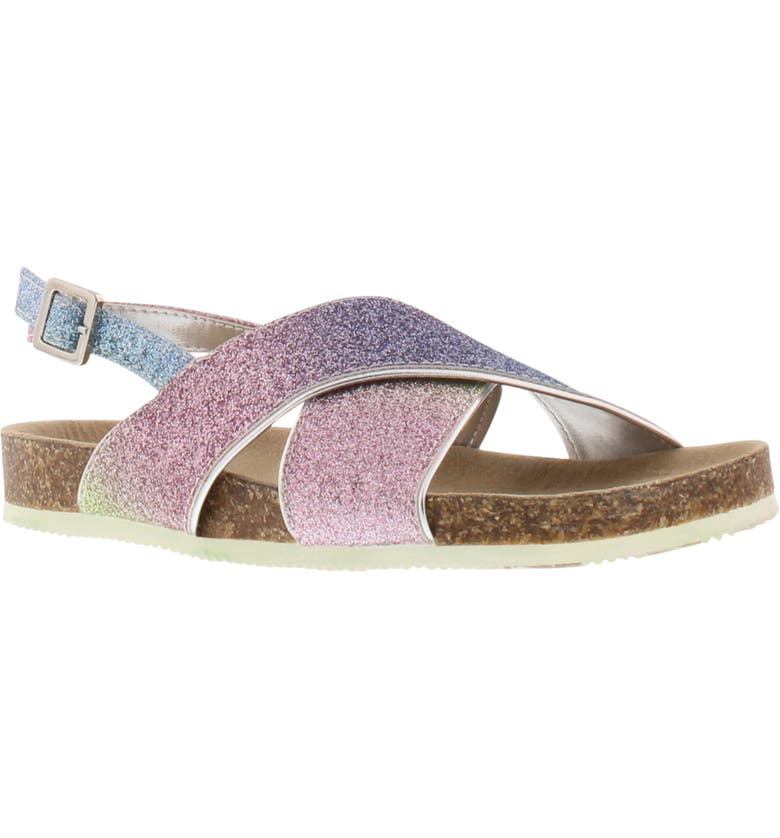 SAM EDELMAN Bethel Christine Sandal, Main, color, RAINBOW